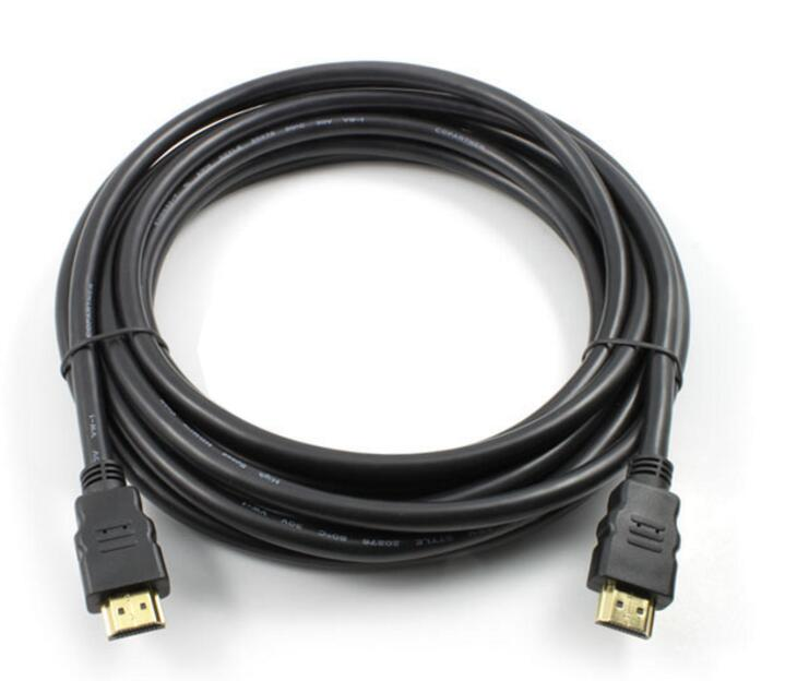 HDMI Cable 2.1 3D 8K@60Hz 4K@120Hz 48Gbps 4320P Gold 3M HDMI Cable