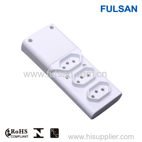 European Style Electrical Extension Power Socket