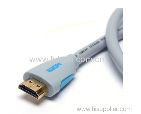 High Quality HDMI Cable 19Pin M/M with ferrite 1080p 8m
