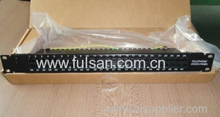 50 Ports Rj11 Voice Patch Panel