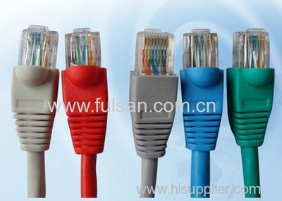 Stranded CCA Cat6 Patch Cord 8P8C Molded RJ45