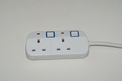 Universal 3 Way/4 Way/5 Way 3 Meter Extension Socket Cord with Individual Switch And Indicator