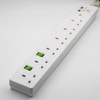 5 Gang Pivot Power Strip Surge Protector with 2.1A USB CHARGING PORTS