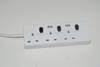 13A Fused BSI Approved 3 Gang Socket Outlet UK Power Strip with Switch And Usb Port