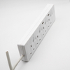 BS UK Power Strip 2 Outlet with Individual Switch And 2 USB Port