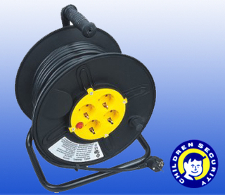 plastic cable reel drum