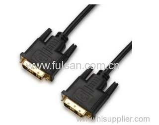 DVI 18+1 Male to Male cable gold plated