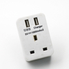 UK To UK Adapter with USB Charger Port