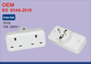 Grounding EU to UK Universal Travel Power Adapter