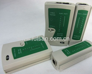 RJ45 RJ11 RJ12 Network LAN Cable Tester with FCC and CE Approved