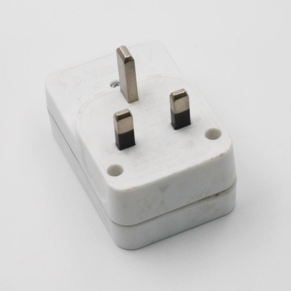 2 Round Pin To 3 Pin Adapter Plug in Malaysia Dubai, Eu To Uk Plug Adapter