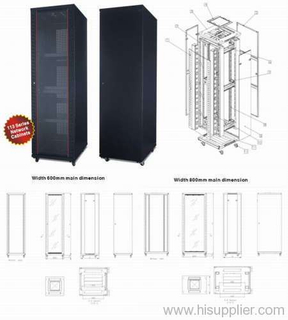 "19"" Stand Network Cabinet"