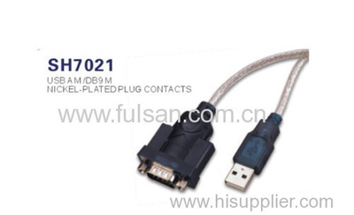 USB 2.0 to RS232 Serial Adapter Cable for PC PDA GPS