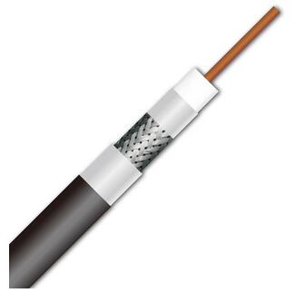 Best Quality Rg11 Low loss 14 AWG 75ohm Tri-shield Coaxial Cable for Cable/Satellite Service