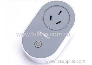 Surge Protection Remote Controlled Wifi Smart Socket