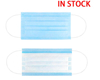 High quality anti-virus beauty non woven 3 ply disposable face mask with ear loops