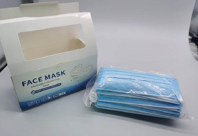 3 Ply No-woven Fabric Health Earloop Virus Protective Disposable Face Mask in Stock