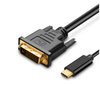 USB 3.1 Type C USB C to DVI Cable 6 Feet 1.8 Meters 1080P