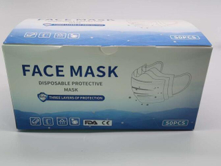Disposable anti PM2.5 respiratory face mask Carbon N95 Dust Protective Respirator Face Mask With Valve