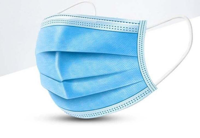 Disposable non woven face mask with design