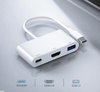 High Quality 3 in 1 USB Type C HUB To 1080P 4K HDMI+USB 3 in 1 USB C HUB Converter Adapter Cable