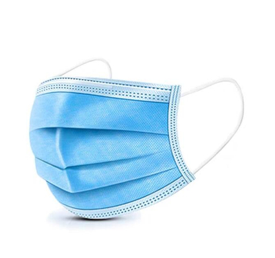Wholesale Disposable Face Mask Pad 3ply Breathing Dust Masks Pad Mouth Cover Respirator Filter